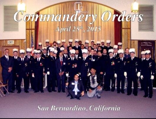 Commandery Orders