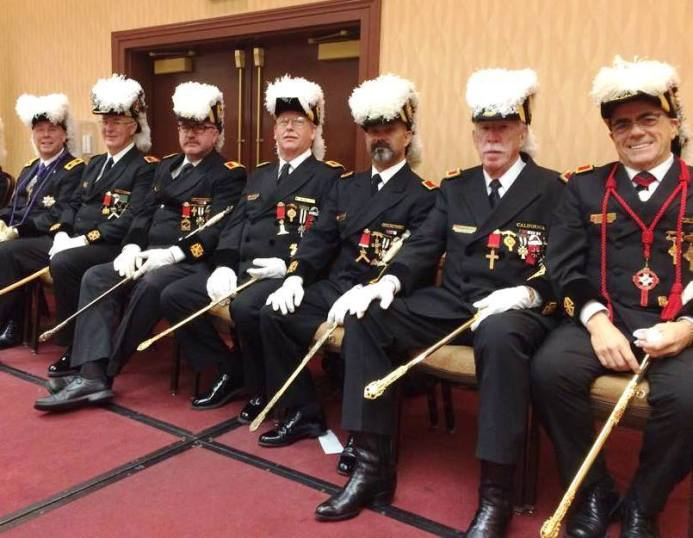 Grand Commandery Officers at York Rite Grand Sessions California