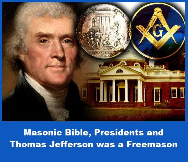 Thomas Jefferson was a Freemason
